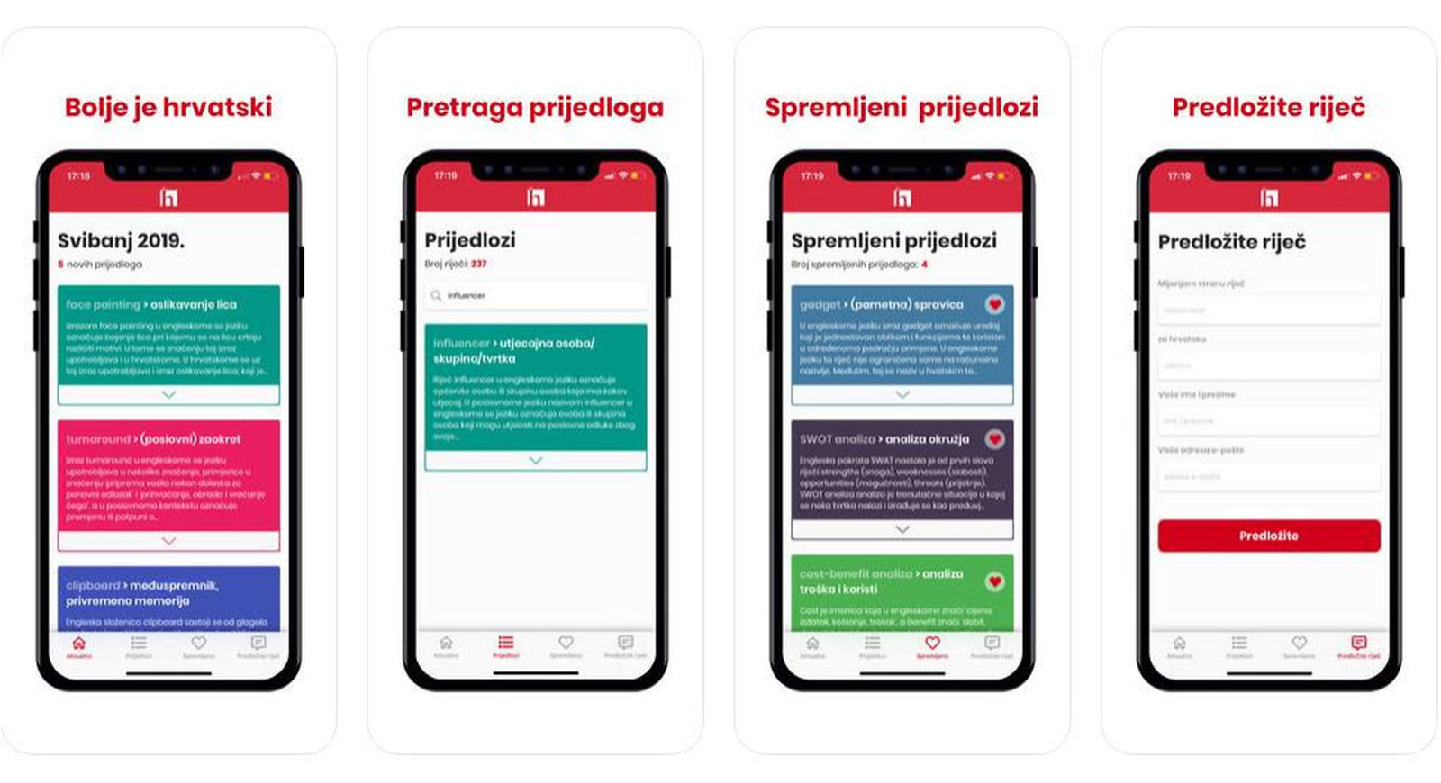 Aplikacija Bolje je hrvatski (Foto: Screenshot/AppStore)