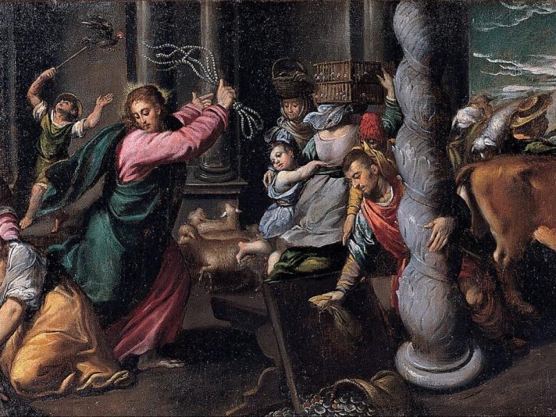 Isus čisti Hram Oca Nebeskoga, a on čisti i hram našega tijela