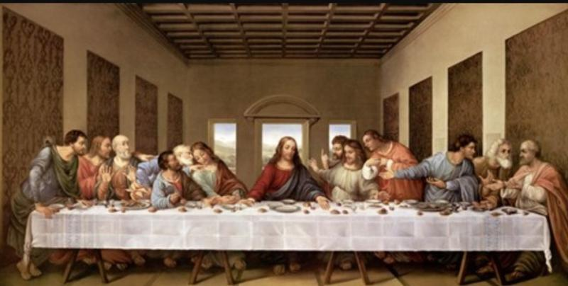 Leonardo da Vinci, Posljednja Večera