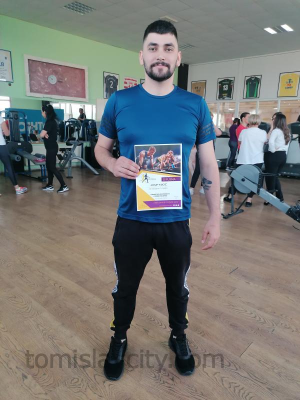 Josip Mioč, pobjednik 3. fitness izazova