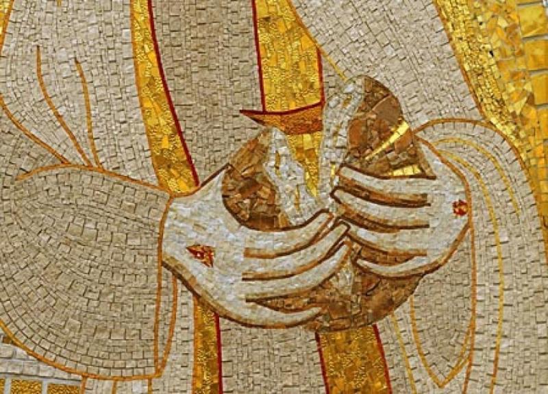 Ivan Marko Rupnik, Isus novi kruh/màna koji se lomi za život svijeta