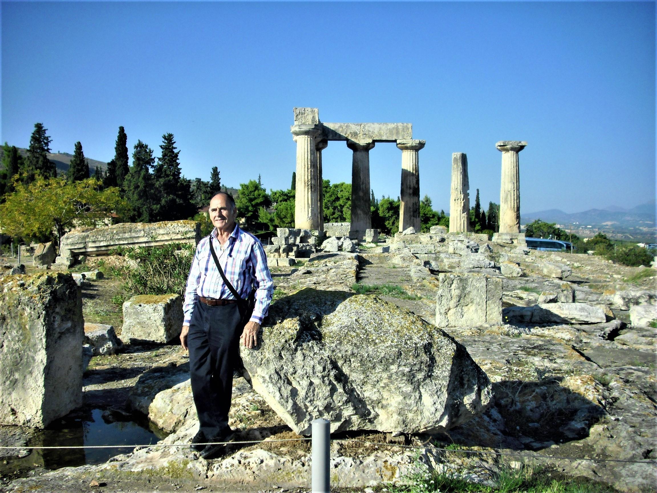Josip Kovač u Korintu - Grčka 2014. godine